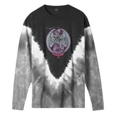 Лонгслив HUF The Magic Dragon L/S Tee Black