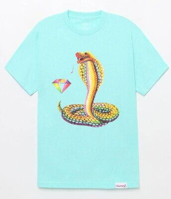 Футболка Diamond Cobra Tee Diamond Blue