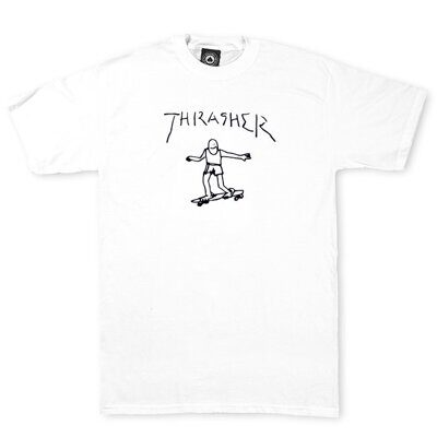 Футболка Thrasher Gonz White