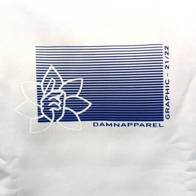 Свитшот DAMN APPAREL WHITE