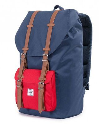 Рюкзак Herschel Little America Navy/Red