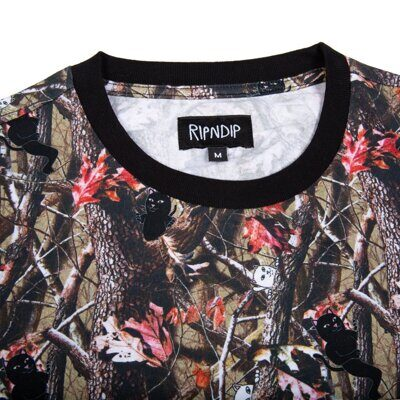 Футболка Ripndip Nerm & Jerm Tree Camo Pocket Tee Multi