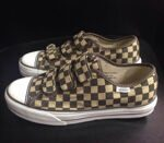 Кеды Vans Prison Issue 23 Checkerboard Coffee Khaki
