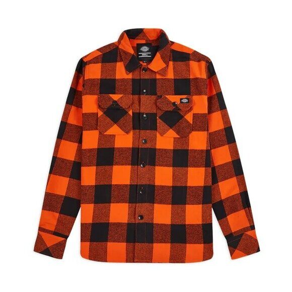 Рубашка Dickies Sacramento Shirt Bright Orange
