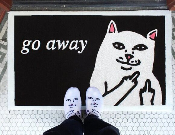 Коврик Ripndip Go Away Rug