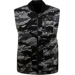 Жилетка Huf Tiger Camo Reversible Vest Black Camo Rev(Копия)