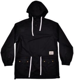 Анорак Grizzly Poplin Pullover Black