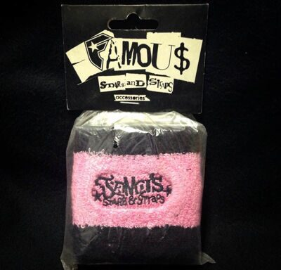 Напульсник Famous Stars and Straps Black Pink