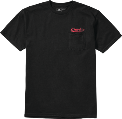 Футболка Emerica Destroy Pocket Tee - black