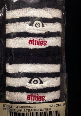 Напульсник Etnies Bridge Wristband White Black
