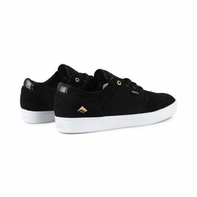 Кеды Emerica Figgy Dose black white gold
