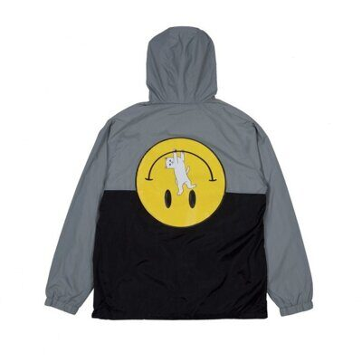 Анорак Ripndip It Wont Be Ok Anorak Jacket Grey Black