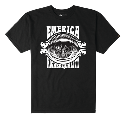Футболка Emerica Paranoia T - black