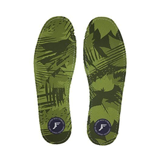Стельки FOOTPRINT Kingfoam Green Camo  3mm
