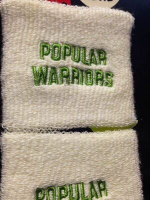 Напульсник Popular Warriors Popwar White Green