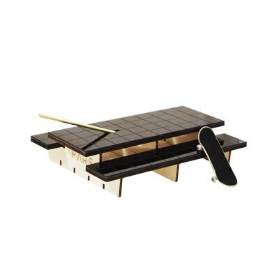 Фигура Pars Polejam Table Black Tile Top