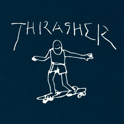 Футболка Thrasher Gonz Navy Blue