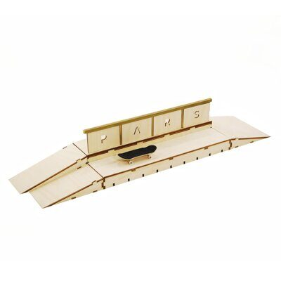 Фигура Pars double box wooden top rail 3 kickers