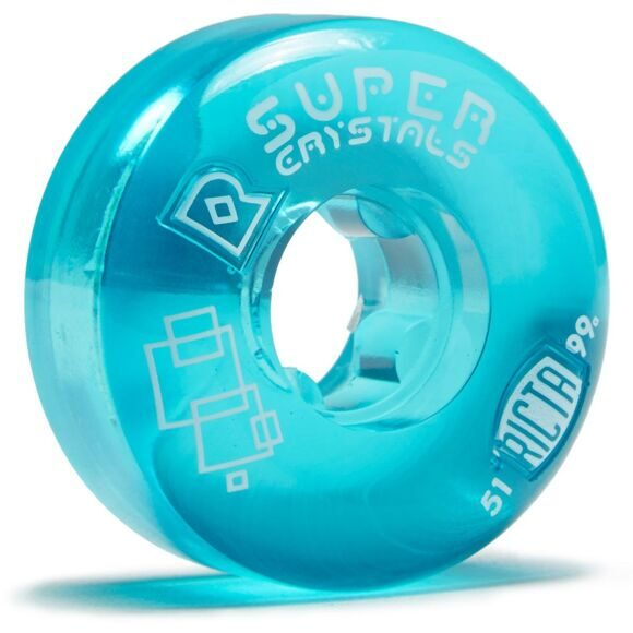 Колеса Ricta Super Crystals Blue 99a 51mm