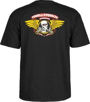 Футболка Powell Peralta Winged Ripper Black