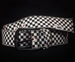 Ремень женский Vans Checkington Belt Black White