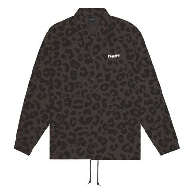 Куртка HUF Neo Leopard Coach Jacket Black