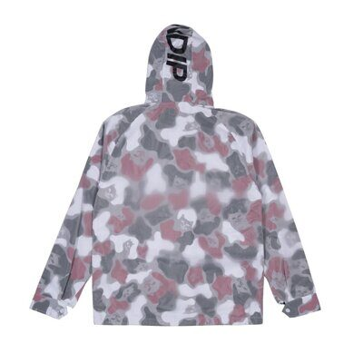 Куртка Ripndip Nerm Psycho Clear Rain Coat Red Camo