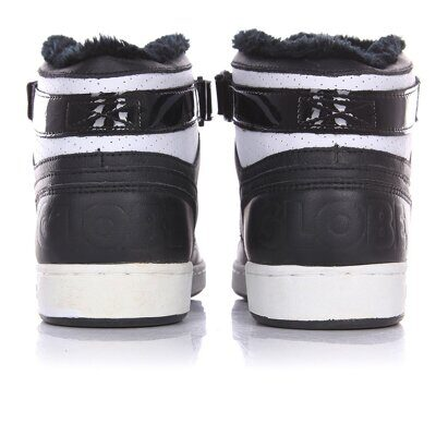Кеды Globe Superfly Black White Gold Fur
