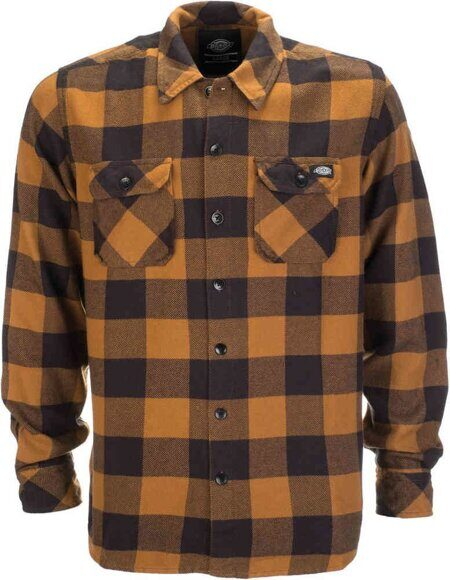 Рубашка Dickies Sacramento Shirt Brown Duck