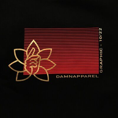 Свитшот DAMN APPAREL Black