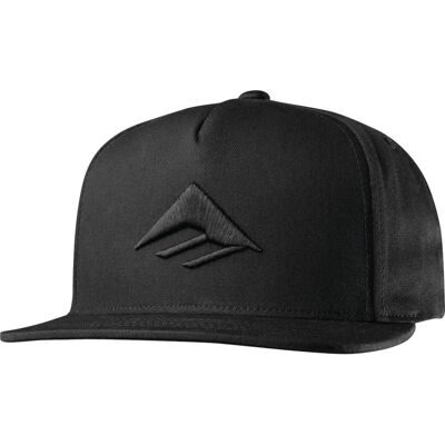 Бейсболка Emerica Triangle Snapback Cap - black