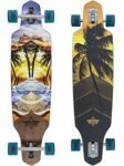 "Скейт в сборе Dusters SS18 Wake Element Longboard 38"" Multi"