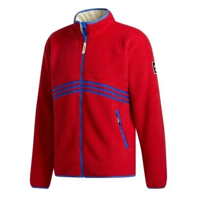 Куртка Adidas SHERPA FULL ZIP Power Red