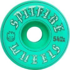 Колеса SPITFIRE WHEELS OLD ENGLISH TURQ 54MM 99A