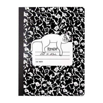 Блокнот Ripndip Stay In Sk3wl Composition Notebook