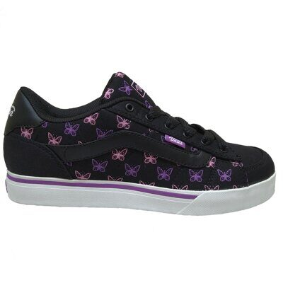 Кеды Vans Mallorie Polka Fly Black Dewberry