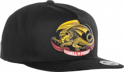Бейсболка Powell Peralta Oval Dragon Snap Back Black