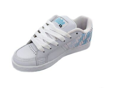 Кеды Globe Vice SS Girls White Blue Diamond Fade