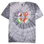 Футболка HUF x South Park Trippy Tie Dye Tee Black