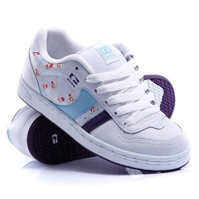 Кеды Globe Finale Girls 2 White Light Blue Floral