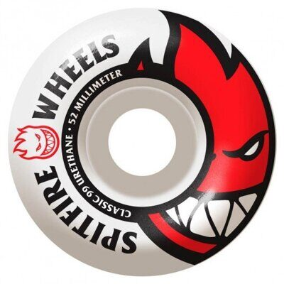 Колеса SPITFIRE WHEELS  BIGHEAD MASH RED/WHT 52MM 99A