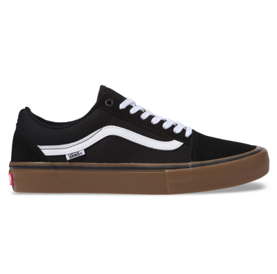 Кеды Vans OLD SKOOL PRO Black White Medium Gum