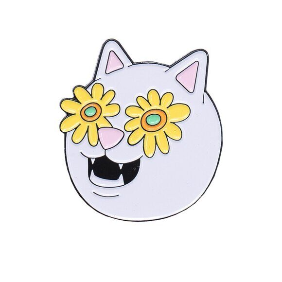 Значок Ripndip Flower Belly Pin