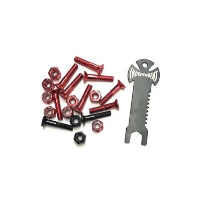 Винты Independent Genuine Parts Phillips Hardware In Red Black