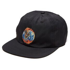 Бейсболка Ripndip World On Fire 6 Panel Strap Back Black