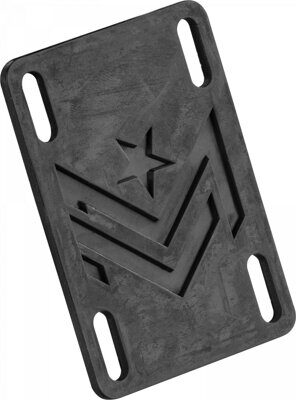 Подкладки Mini Logo Riser Pad Rigid 1/8 Black