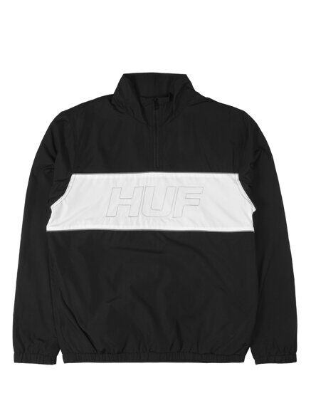Олимпийка HUF Stadium Half Zip Track Jacket Black