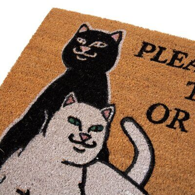 Коврик Ripndip Don't Let The Cops In Door Mat