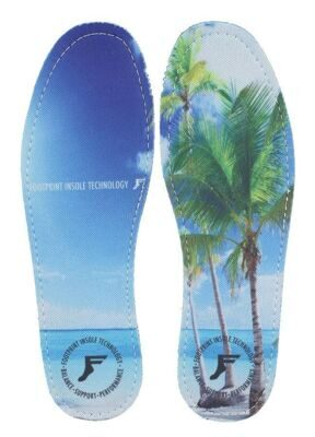 Стельки FOOTPRINT INSOLES kingfoam flat  Beach
