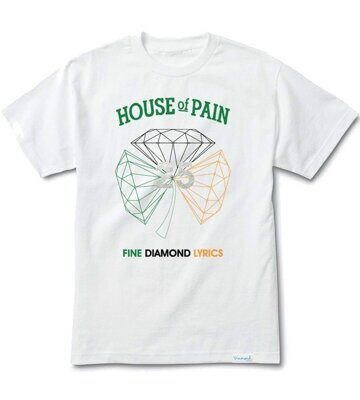 Футболка Diamond x H.O.P Diamond Tee White